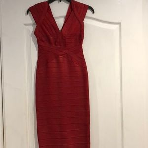 Dresses & Skirts - Sivalia couture red bandage dress
